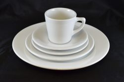 White Dining Set - Black 3